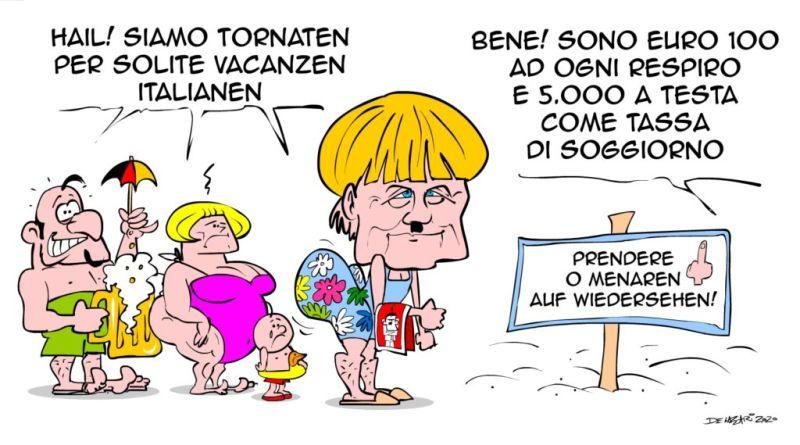 Caricatura Merkel